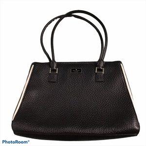 Kate Spade Black Leather Large Shoulder Bag